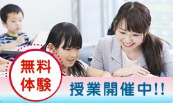 無料体験 授業開催中!!